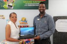 TDC donates laptop computer to the Advancement of Children Foundation