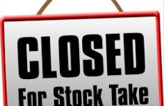 Closing for Stock Taking