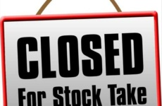 Notice: Closure for Stock Taking